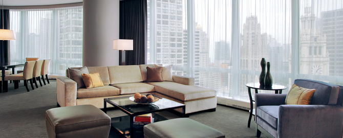 Hotel Condo Two Bedroom Trump Tower Chicago Condos