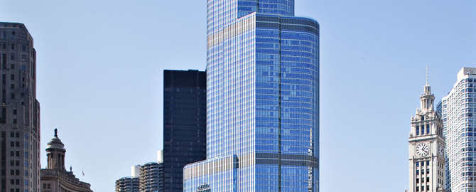 Chicago High Rise Condos Trump International Hotel